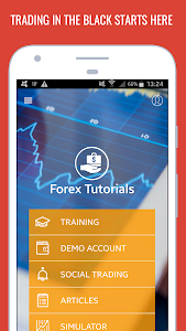 screenshot of Forex Tutorials - Trading for Beginners version Varies with device