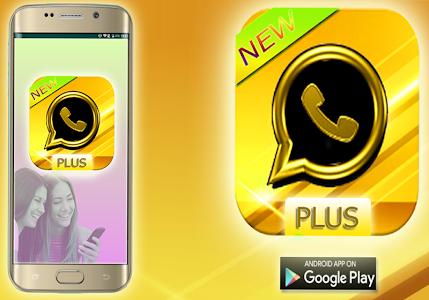 screenshot of الواتس اب الذهبي بلس الجديد version 1.0.1