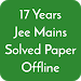 Download 17 Years Jee Main Solved Papers Offline 1.6 APK