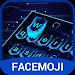 Download 3D Hologram Neon Emoji Keyboard Theme v6.0 APK