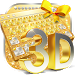 Download 3D gold diamond keyboard 10001003 APK