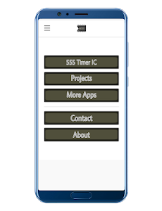 screenshot of 555 Timer Projects version 7.0.2