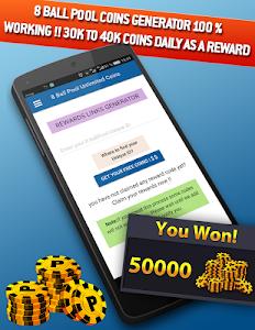 Download 8Ball Pool free coins & cash rewards 3.0 APK