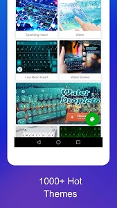screenshot of TouchPal Keyboard Pro- type with AI assistant  version 6.8.4.1