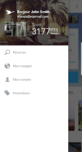 screenshot of AccorHotels - Hotel booking version Varies with device