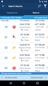 Download Aerobilet - Flights, Hotels, Bus, Transfer 3.5.0 APK