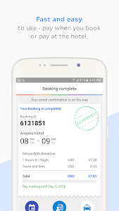 screenshot of Agoda – Hotel Booking Deals version 3.9.0