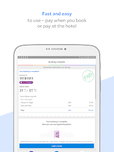 screenshot of Agoda – Hotel Booking Deals version Varies with device
