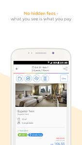screenshot of Agoda – Hotel Booking Deals version 6.27.0