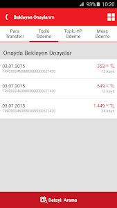 screenshot of Akbank Direkt version Varies with device