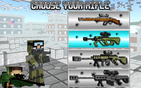 screenshot of American Block Sniper Survival version C20i