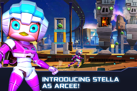 screenshot of Angry Birds Transformers version 1.5.18