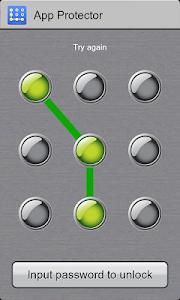 screenshot of App Lock version 1.4.52