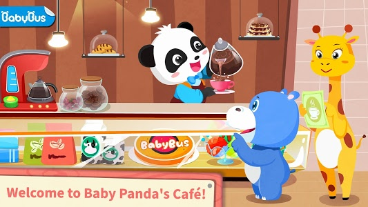 Download Baby Panda's Café- Be a Host of Coffee Shop & Cook 8.25.10.00 APK