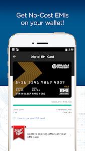 screenshot of Bajaj Finserv Wallet - No Cost EMIs, Recharges version 6.0
