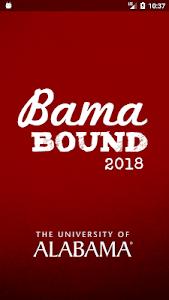 screenshot of Bama Bound version 2.6