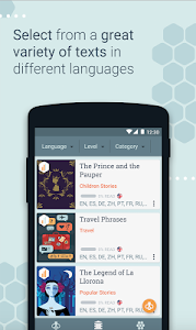 Download Beelinguapp: Learn Languages with Audio Books 2.290 APK