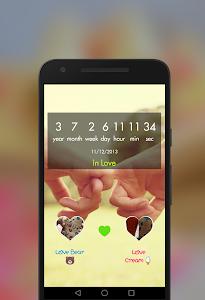 screenshot of Been Love Memory - Love counter version 1.3.14