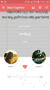 screenshot of Been Together (Ad) - Couple D-day version Varies with device