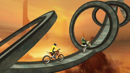 screenshot of Bike Racer 2018 version 3.1