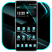 Download Black Cyan Simple Theme 1.1.4 APK