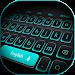 Download Blue Light Black Keyboard 10001003 APK