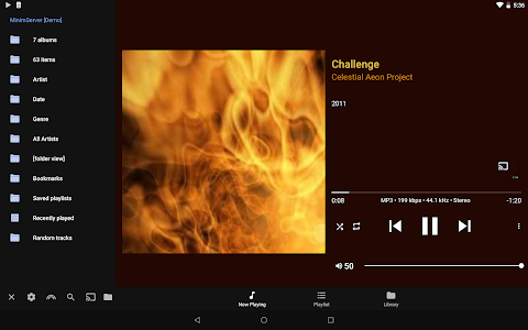 screenshot of BubbleUPnP for DLNA / Chromecast / Smart TV version 3.2.1