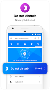 screenshot of Caller ID & Call Blocker Free version 1.4.8