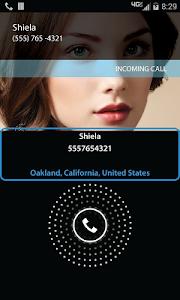 screenshot of Caller Location version 5.0