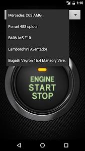 screenshot of Car sounds version 4.0