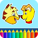 Download Cats & Dogs coloring game 4.23 APK