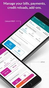 screenshot of Celcom Life version 1.11.1