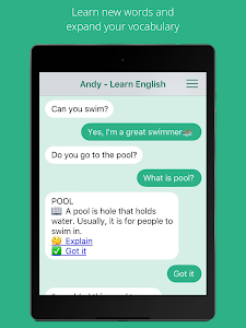 Download Andy - English Speaking Bot  APK