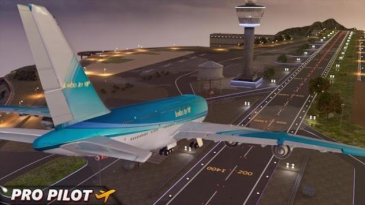 screenshot of City Airplane Pilot Flight version 2.0
