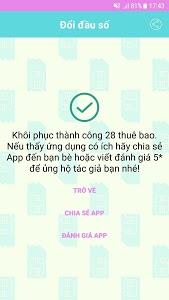 Download Đổi đầu số điện thoại - Doi dau so 1.8 APK
