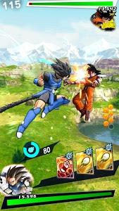 screenshot of DRAGON BALL LEGENDS version 1.25.0