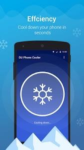screenshot of DU Phone Cooler & Cool Master version 1.2.3