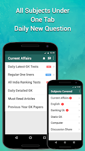 screenshot of Daily Current Affairs & GK version Varies with device