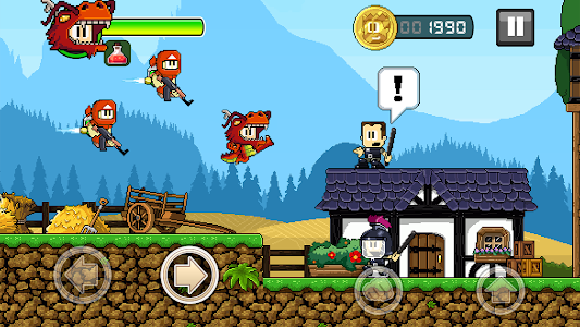 screenshot of Dan the Man: Action Platformer version 1.2.80