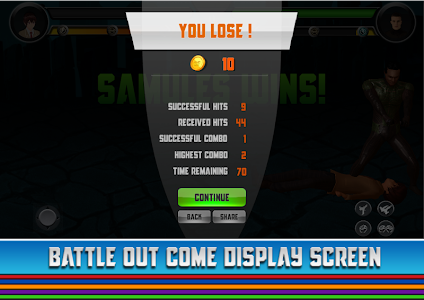 screenshot of Deadly Fight - Fighting Game version 1.9.9.3