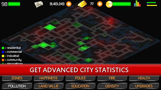 screenshot of Designer City version 1.19