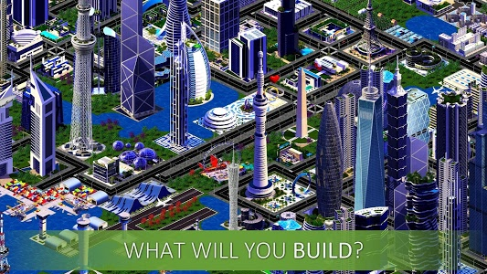 screenshot of Designer City: building game version 1.32