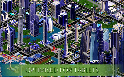 screenshot of Designer City: building game version 1.34