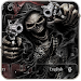 Download Devil Death Skull Gun Keyboard Theme 10001003 APK