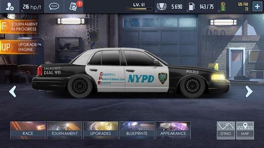 screenshot of Drag Racing: Streets version 2.1.0