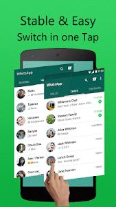 Download Dual accounts for WhatsApp 1.7 APK