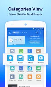 screenshot of ES File Explorer File Manager version 4.1.9.7.4