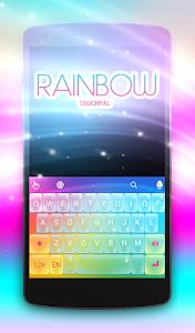 Download TouchPal Rainbow keyboard 6.8.15.2018 APK