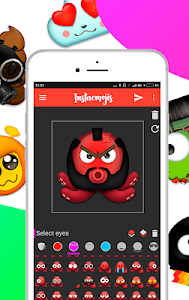 screenshot of Emoji Maker - Create your Emojis & Sticker Maker version 1.4.0.1