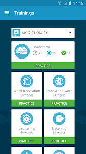 screenshot of English with Lingualeo version 2.5.5.12